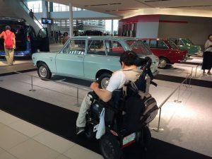 車の展覧会